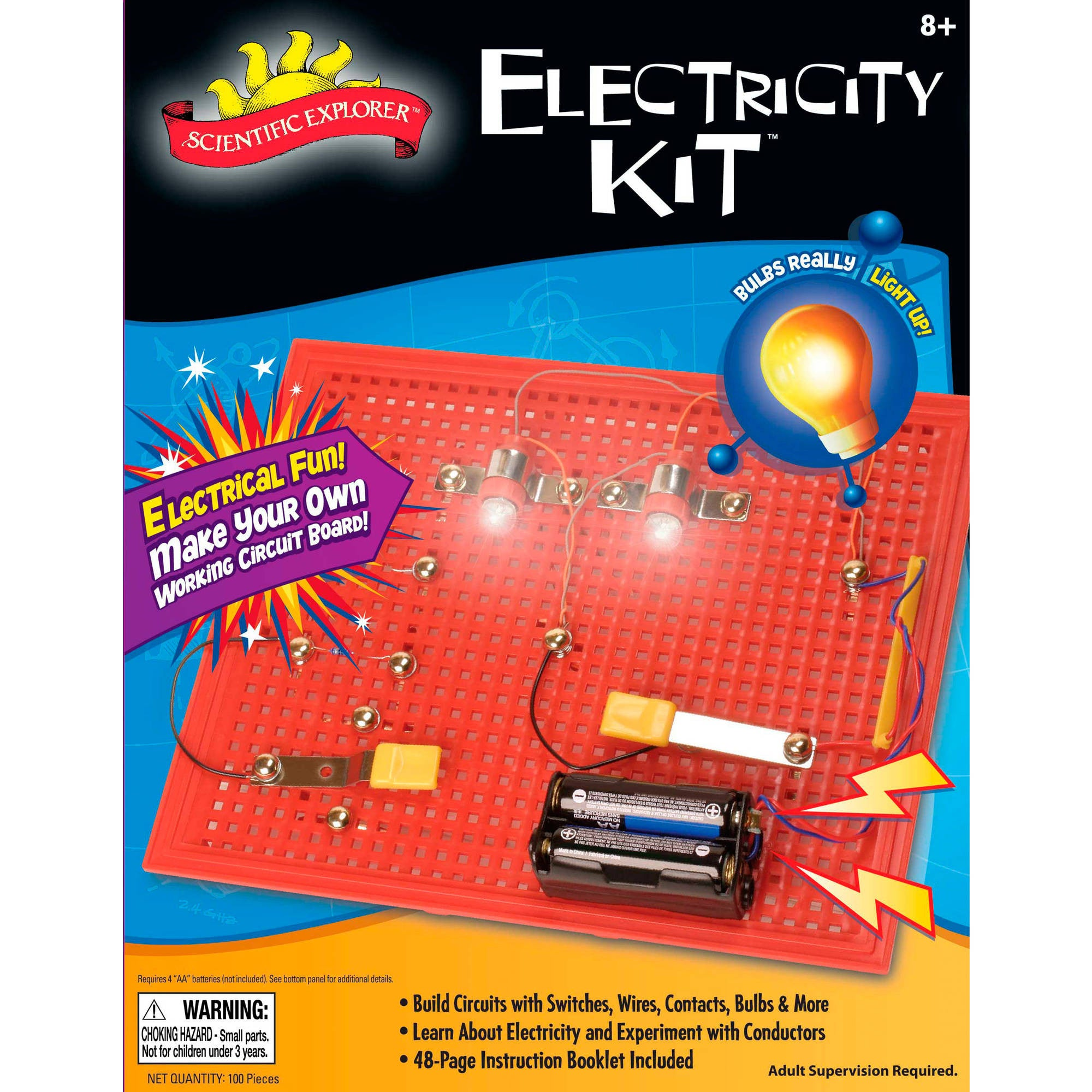 Electricity Kit Mini Lab Smart Alley Educational Toys Store Explore Learn Electrical Circuit And More