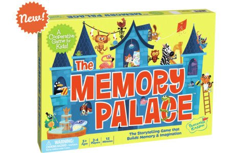 Peaceable Kingdom The Memory Palace Cooperative Board Game