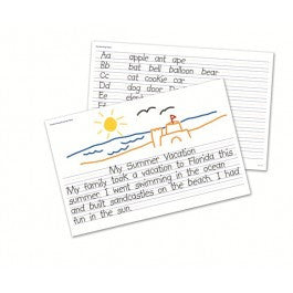 Write-onWipe-off Desk Mats: Handwriting, 1 pc