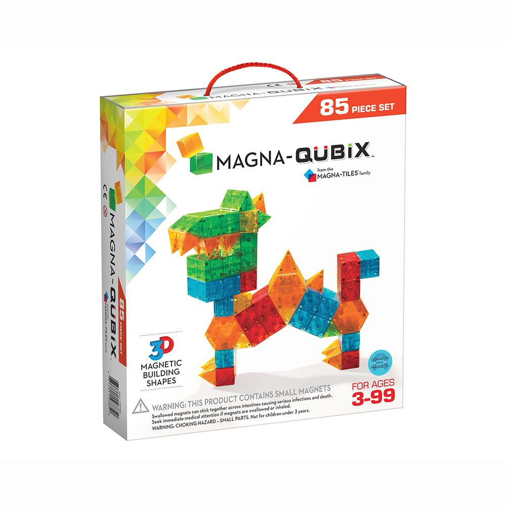 Magna-Tiles Qubix® 85-Piece Set