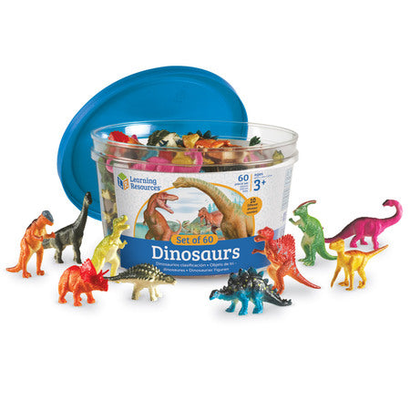 Dinosaur Counters, Set of 60