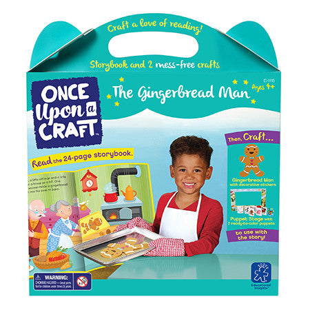 ONCE UPON A CRAFT™- THE GINGERBREAD MAN