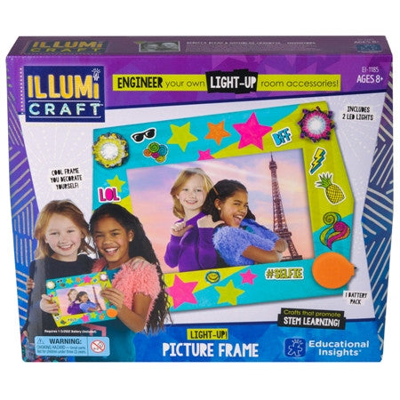 IllumiCraft™ Light-Up! Picture Frame