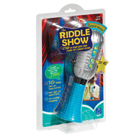THE RIDDLE SHOW™ EMCEE MIC