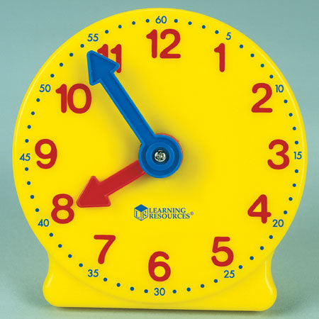 Gear Clock 4 Inch Learning Resources Smart Alley