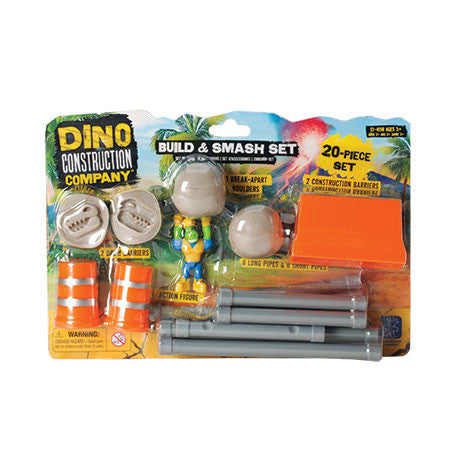 DINO CONSTRUCTION COMPANY™ BUILD AND SMASH CONSTRUCTION SET™