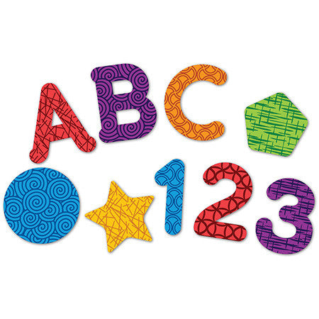 Learning Essentials™ Magnetic Letters, Numbers & Shapes