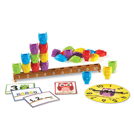 Learning Essentials™ 1-10 Counting Owls Activity Set