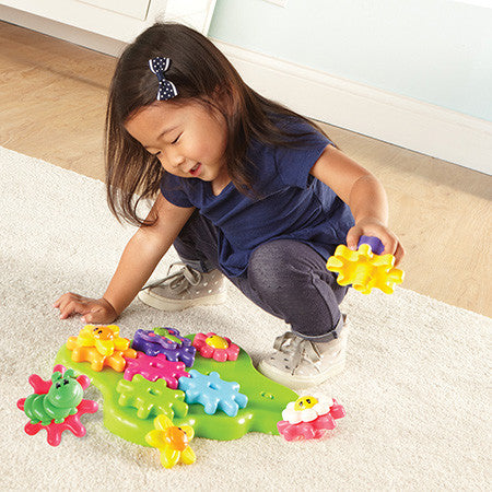 Learning Essentials™ Flower Garden Build & Spin