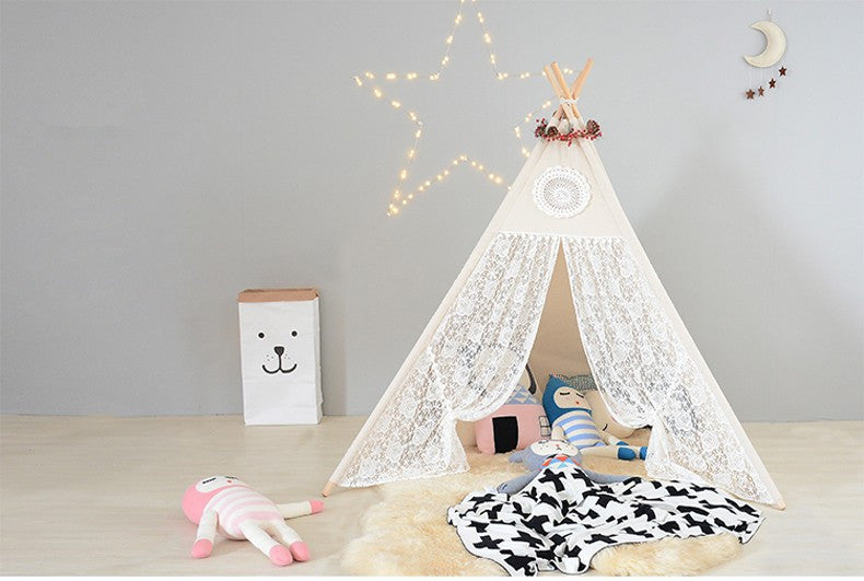 Teepees Lace Tent For Girls