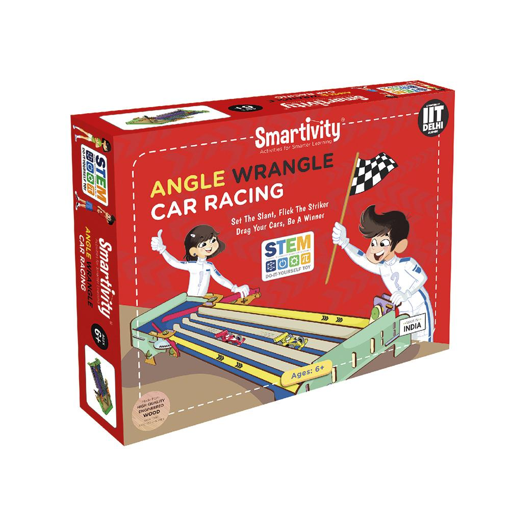 Smartivity Angle Wrangle Car Racing SMRT1090