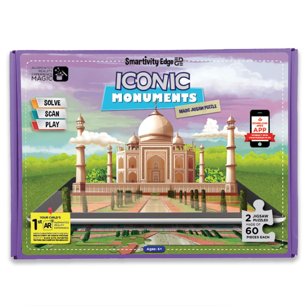 Smartivity Edge Iconic Monuments Augmented Reality Jigsaw Puzzles - SMRT1043
