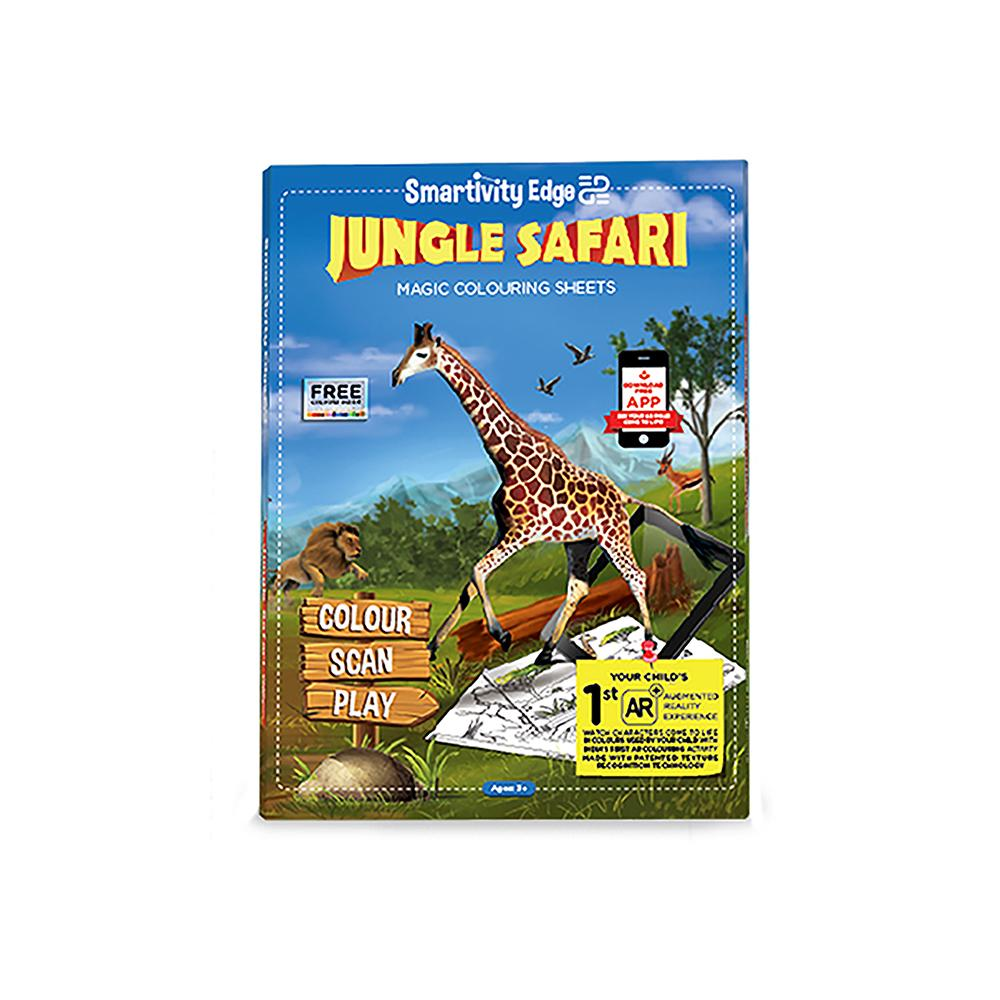 Smartivity EDGE Jungle Safari Augmented Reality Colouring Sheets