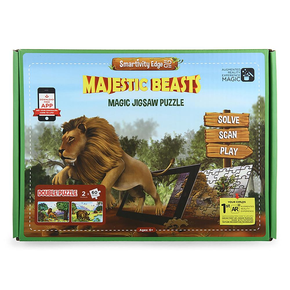 Smartivity Edge Majestic Beasts Augmented Reality Puzzles - SMRT1022