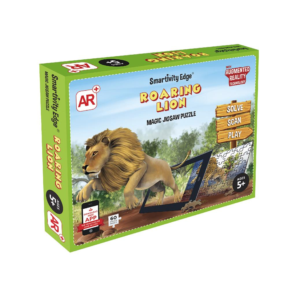 Smartivity Edge Roaring Lion Augmented Reality Jigsaw Puzzles - SMRT1082