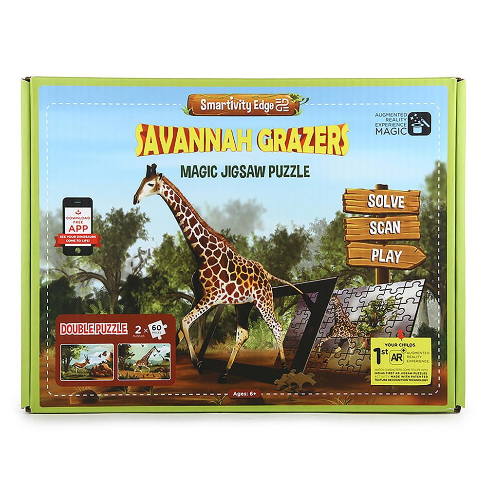 Smartivity Edge Savannah Grazers Augmented Reality puzzles - SMRT1021
