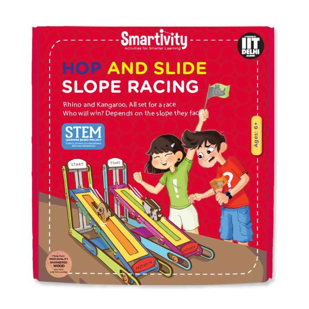 Smartivity Hop n Slide Slope Racing SMRT1031