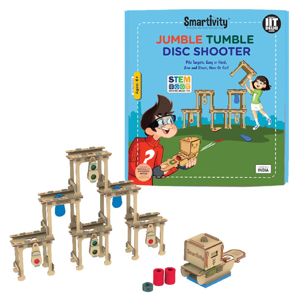 Smartivity Jumble Tumble Disc Shooter SMRT1125