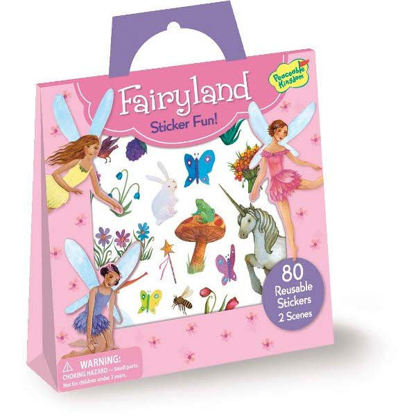 FAIRYLAND STICKER ACTIVITY TOTE