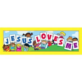 Jesus Loves Me Bookmark