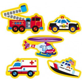 Rescue Vehicles superShapes