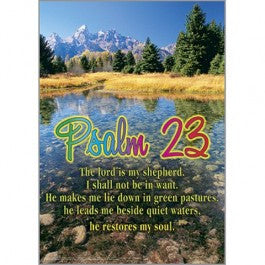 Psalm 23 The Lordshepherd Posters