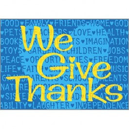 We give Thanks Posters