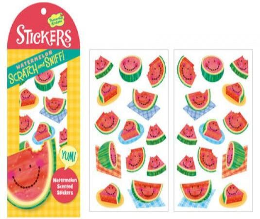WATERMELON SCRATCH & SNIFF STICKERS