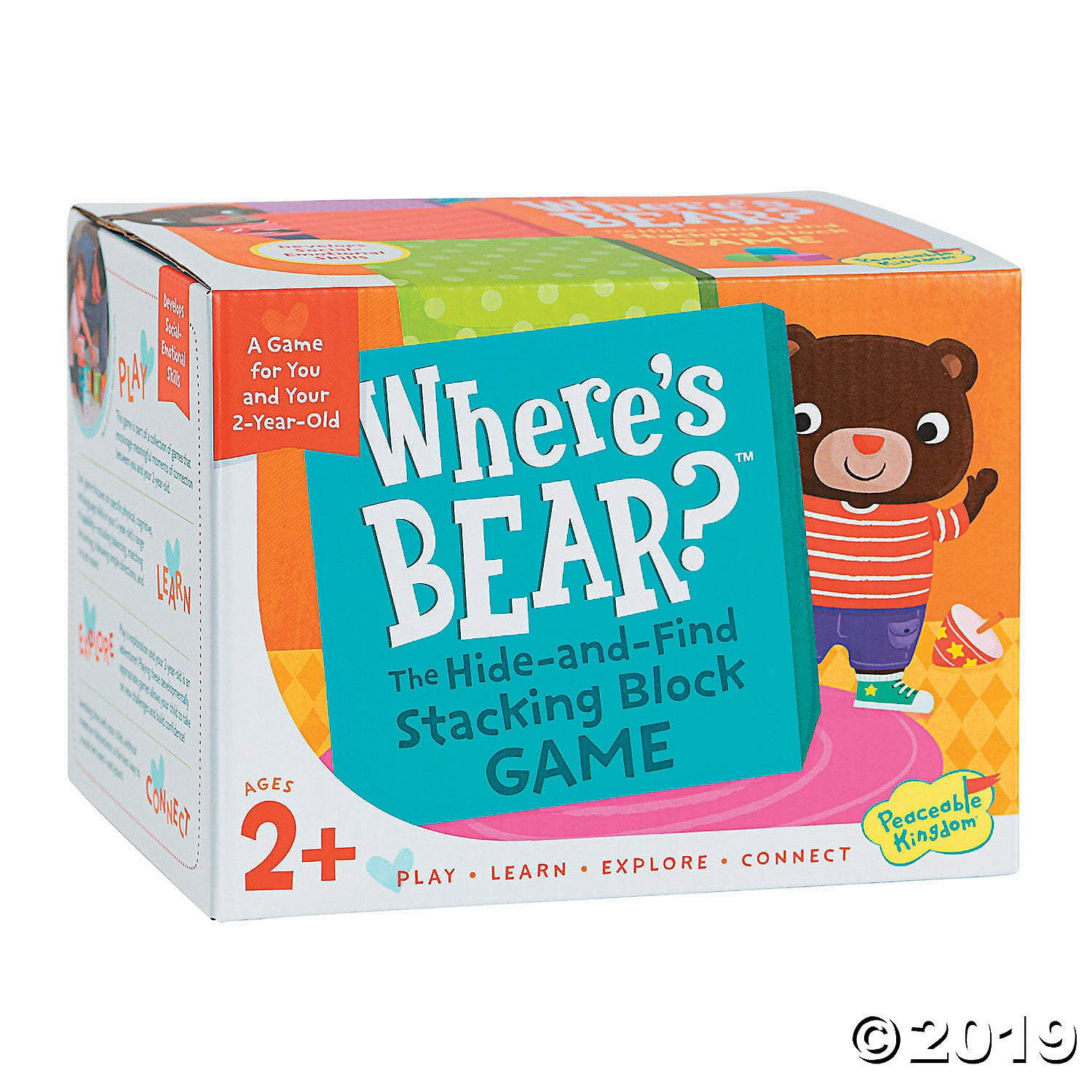 Where's Bear? The Hide-and-Find Stacking Block Game