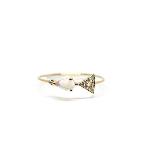 Moonstone Ethereal Ring