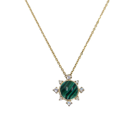 Emerald Rise Necklace