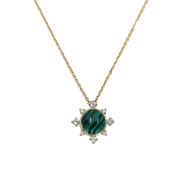 Malachite Rise Necklace