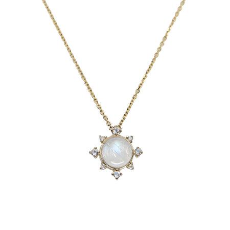 Aquamarine Rise Necklace