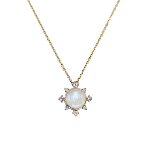 Moonstone Rise Necklace