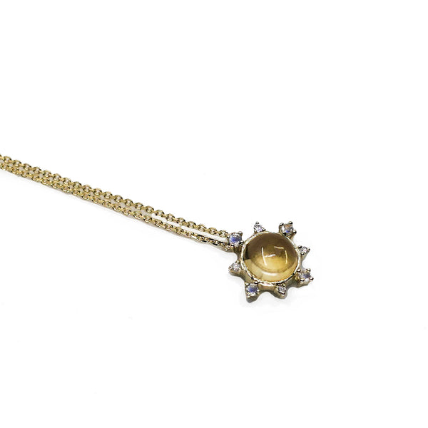 Citrine Rise Necklace