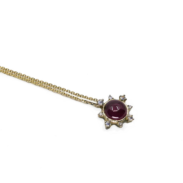 Garnet Rise Necklace