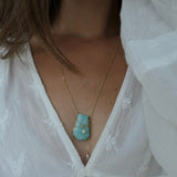 Amazonite Gaia Necklace
