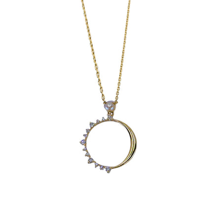 Sapphire Rise Necklace