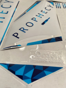 Prophecy Oracle Cricket Bat Stickers