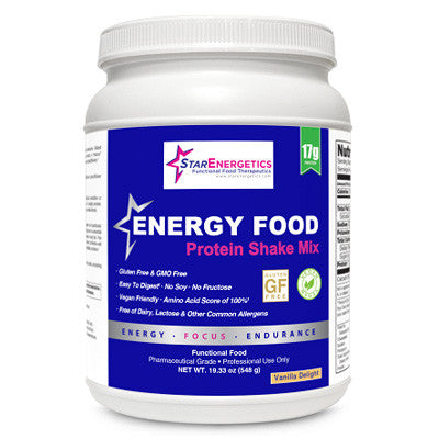 Energy Food Vanilla Protein Shake Mix