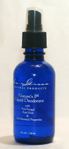 All Natural Deodorant Spray System