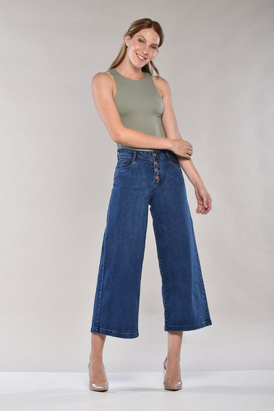 CULOTTE · FASHION HIGH WAIST JEANS · 3193