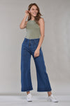 CULOTTE · FASHION HIGH WAIST JEANS · 3191