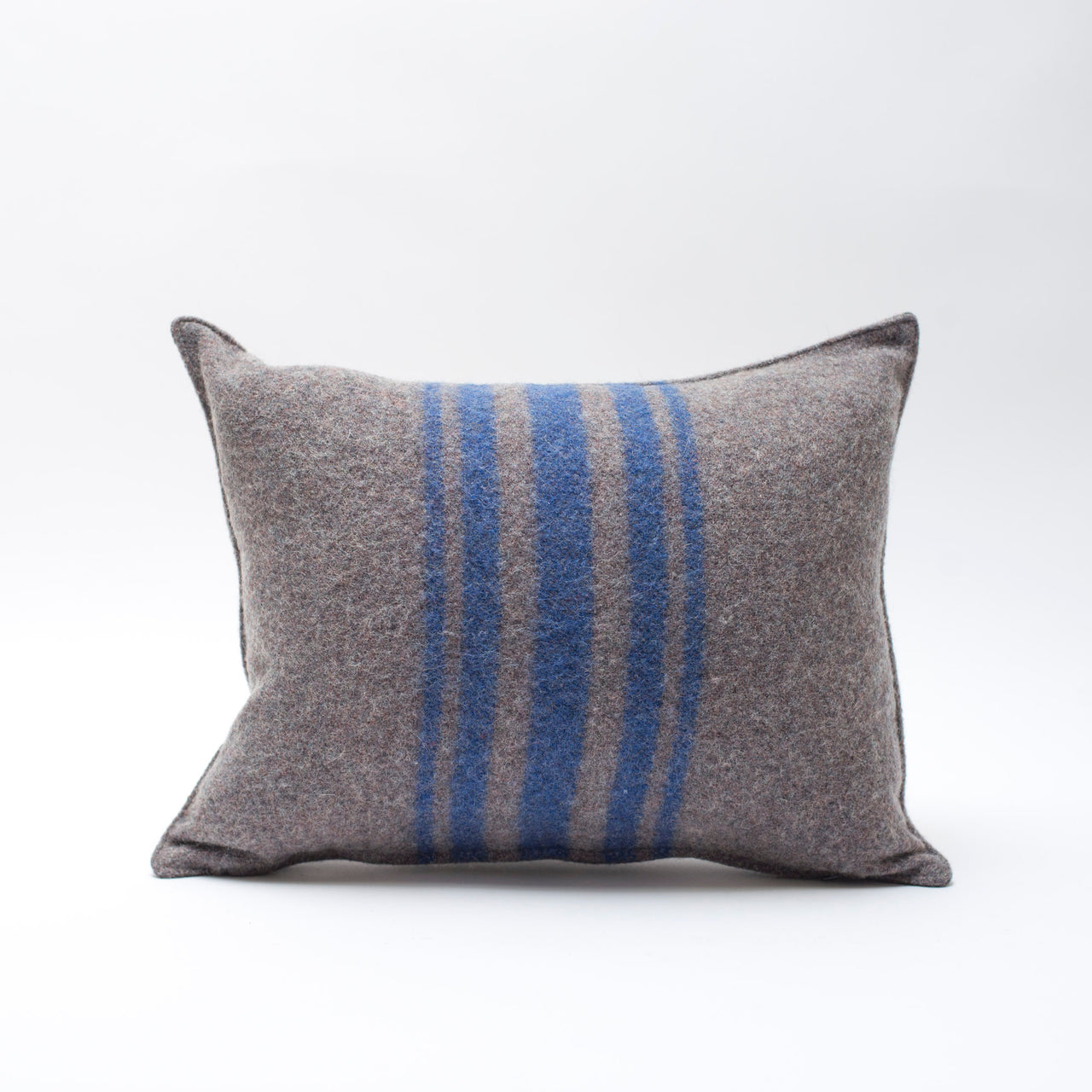wool blanket pillows