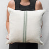 grain sac pillows (green)