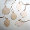 bag of wooden pendants