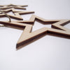 bag of wooden stars