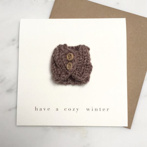 cozy winter cards