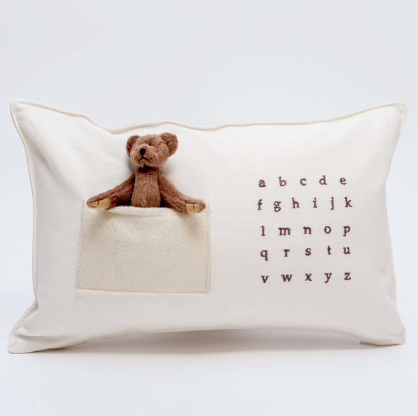 abc bear pillow