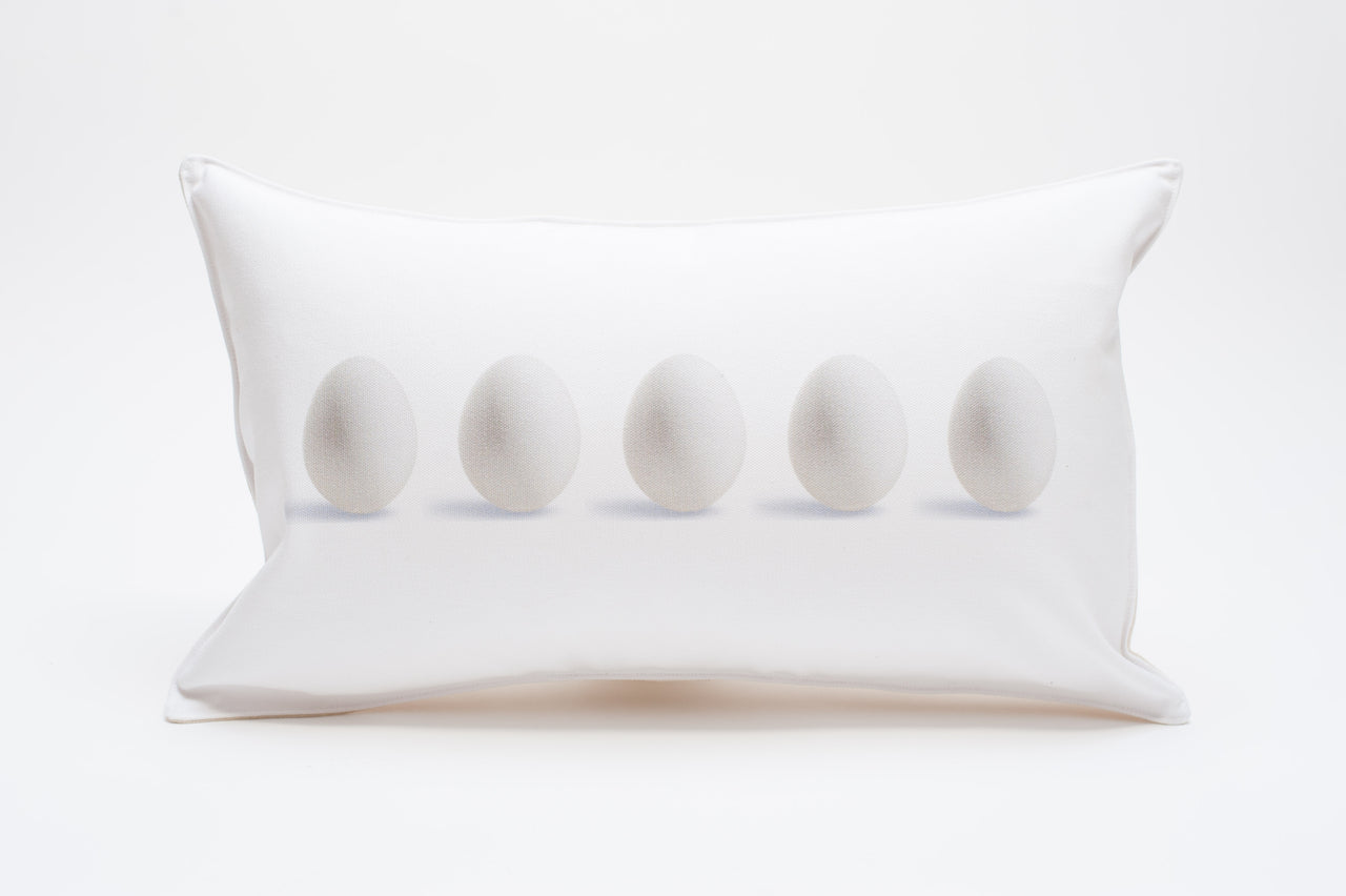 shell/egg pillows